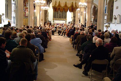 Lancashire Sinfonietta at Preston Minster, photo from their own collection.