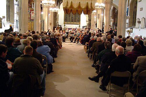 Lancashire Sinfonietta at Preston Minster, photo from their own collection.