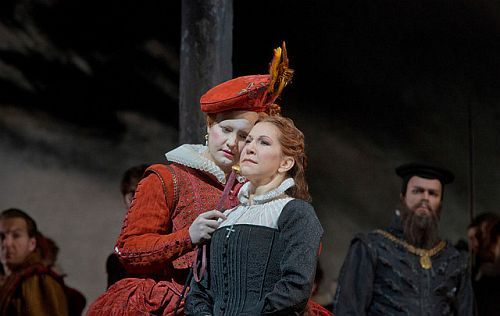 MariaStuarda Act IPhoto: Ken  Howard for Metropolitan Opera