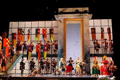 Final Scene LAO Performance of Cinderellla Photo Robert Millard