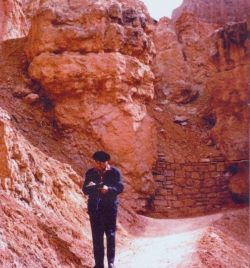 Messiaen, Bryce Canyon 1972 Photo Credit: Fondation Olivier Messaien