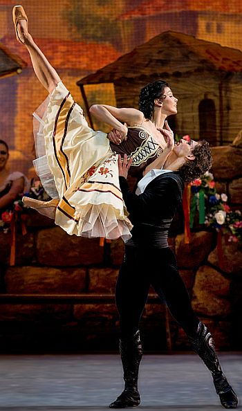 Laurencia. Natalia Osipova and Ivan Vasiliev
