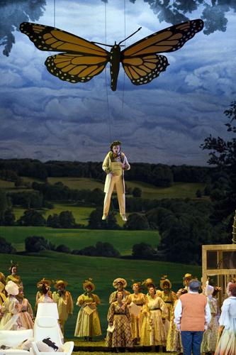 """Die Feen"" - Richard Wagner an der Oper Leipzig; photo credit: Tom Schulze"