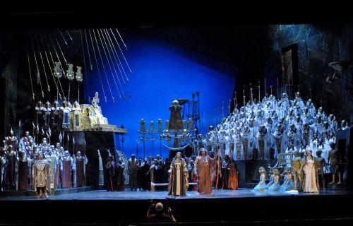 Cincinnati Opera Aida 2007 Photo: Philip Groshong