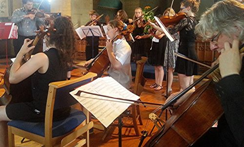 Dante Festival Orchestra (credit Philip R Buttall)