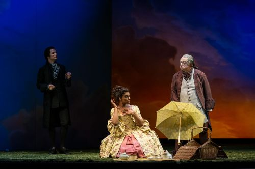 Glyndebourne 2013 Don Pasquale 2013  Pic credit Clive Barda