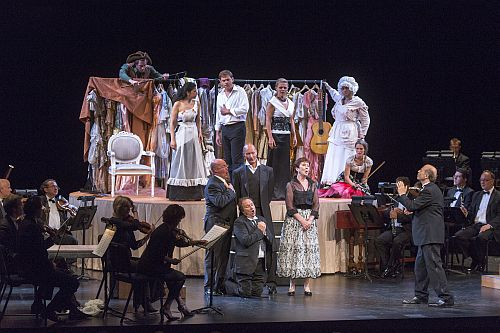 Photo: MOZART: Le nozze di Figaro ; Budapest Festival Orchestra with Iván Fischer, conductor and director; performance photographed: Sunday, August 11, 2013;  5:00 PM at Rose Theater, Jazz at Lincoln Center; New York, NY. Photograph: © 2013 Richard Termine. Photo Credit: Photo by Richard Termine