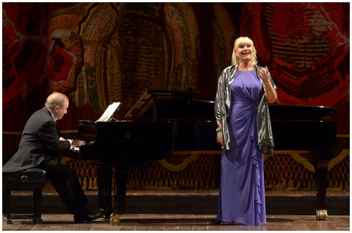 Karita Mattila in concert for Mozarteum Argentino at Teatro Colón. (Photo Liliana Morsia)