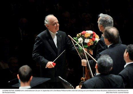 Lorin Maazel Photo (c) P. Fischli