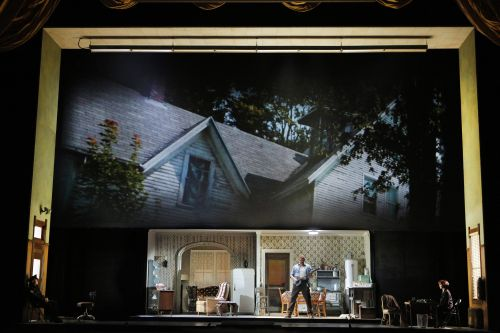 """Dolores Claiborne,"" Act I: Claiborne's house (photo: Corey Weaver"