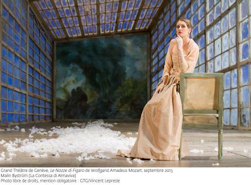 Malin Byström as La Contessa in Le Nozze di Figaro  Photo (c) GTG/Vincent Lepresle