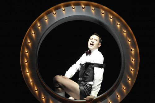Will Young as Emcee in Cabaret Photographer Keith Pattison 2012 PRODUCTION (1)